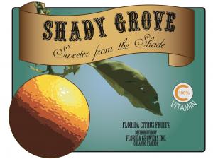 Shady Grove Orange Label