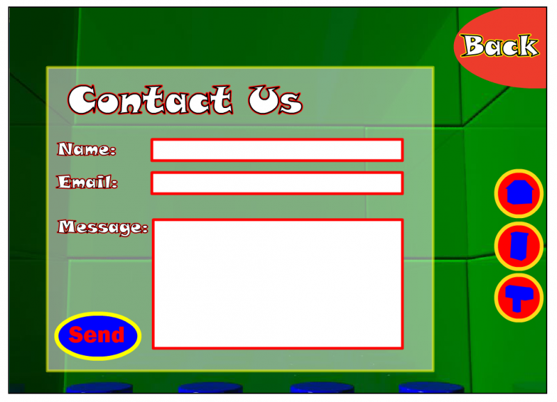 A screenshot of my Lego website