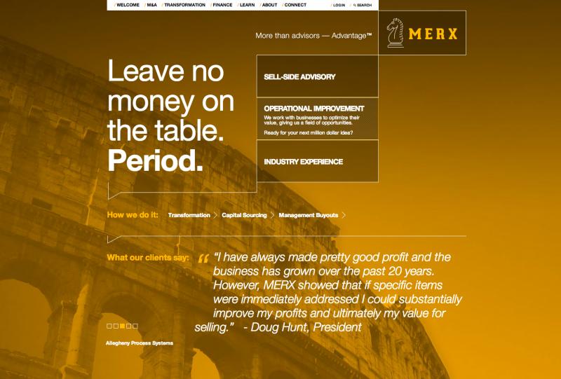 MERX website screen capture